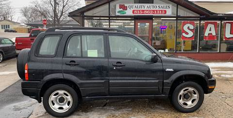 2001 Suzuki Grand Vitara for sale at NJ Quality Auto Sales LLC in Richmond IL