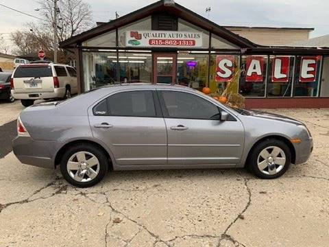 2007 Ford Fusion for sale at NJ Quality Auto Sales LLC in Richmond IL