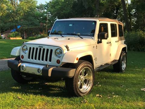 2010 Jeep Wrangler Unlimited for sale at NJ Quality Auto Sales LLC in Richmond IL