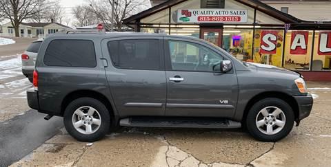 2007 Nissan Armada for sale at NJ Quality Auto Sales LLC in Richmond IL