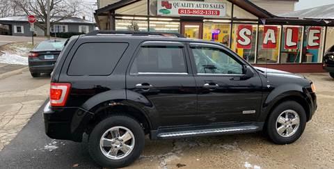 2008 Ford Escape for sale at NJ Quality Auto Sales LLC in Richmond IL