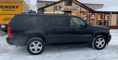 2011 Chevrolet Suburban for sale at NJ Quality Auto Sales LLC in Richmond IL