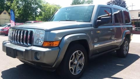 2007 Jeep Commander for sale at NJ Quality Auto Sales LLC in Richmond IL