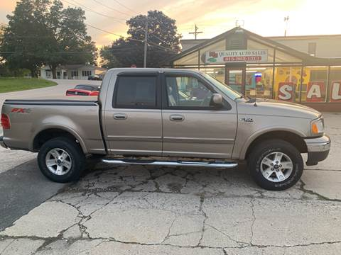 2003 Ford F-150 for sale at NJ Quality Auto Sales LLC in Richmond IL