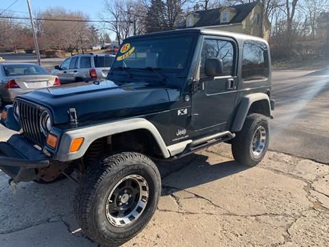 2005 Jeep Wrangler for sale at NJ Quality Auto Sales LLC in Richmond IL