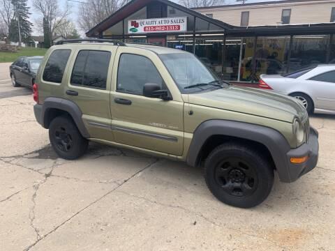 2003 Jeep Liberty for sale at NJ Quality Auto Sales LLC in Richmond IL