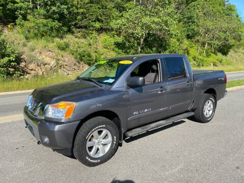 2014 Nissan Titan SV for sale at Johnsons Auto Sales, LLC in Marshall NC