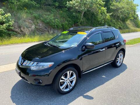 2010 Nissan Murano LE for sale at Johnsons Auto Sales, LLC in Marshall NC