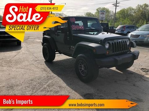 2008 Jeep Wrangler for sale in Clinton, IL