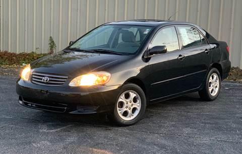 2003 Toyota Corolla for sale in Harvey, IL