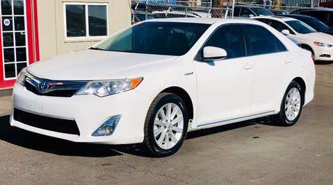 2013 Toyota Camry Hybrid for sale in Englewood, CO