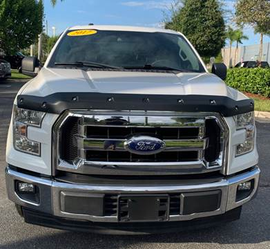 2017 Ford F-150 XLT for sale at BWC Automotive in Kennesaw GA