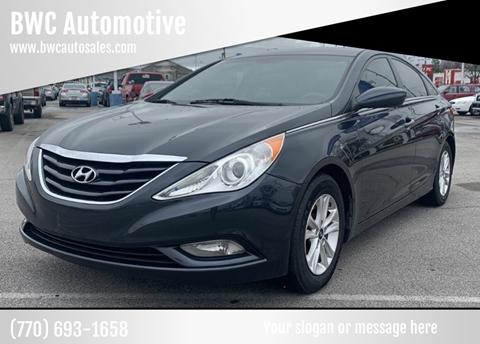 2013 Hyundai Sonata GLS for sale at BWC Automotive in Kennesaw GA