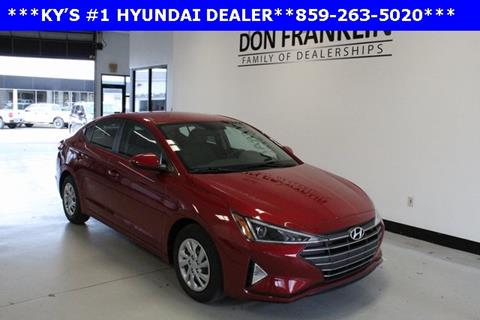 2019 Hyundai Elantra for sale in Lexington, KY