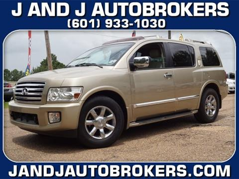 Infiniti Qx56 For Sale In Mississippi Carsforsale