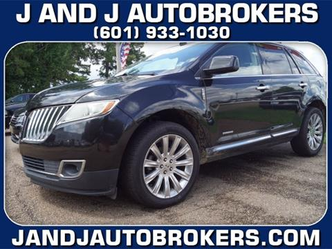 2011 Lincoln Mkx For Sale In Mississippi Carsforsale