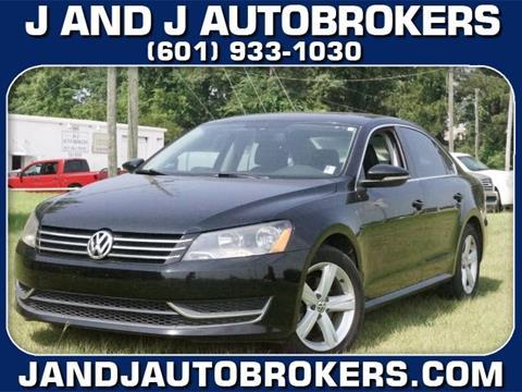 2012 Volkswagen Passat for sale in Pearl, MS