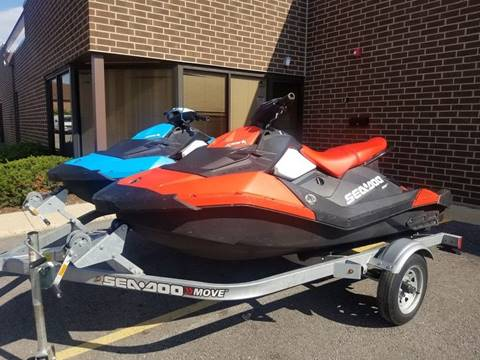 2016 Sea-Doo Spark 90HP IBR 3UP for sale in Bensenville, IL