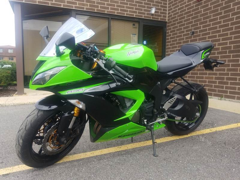 2014 Kawasaki Zx6R for sale at Toy Barn Inc in Bensenville IL