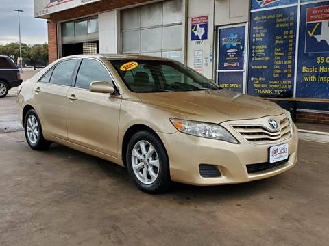 2011 Toyota Camry For Sale >> Toyota Camry For Sale In Dallas Tx Car Spot