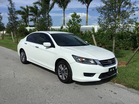 2014 Honda Accord for sale at D & P OF MIAMI CORP in Miami FL