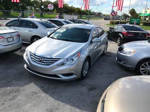 2012 Hyundai Sonata for sale at D & P OF MIAMI CORP in Miami FL