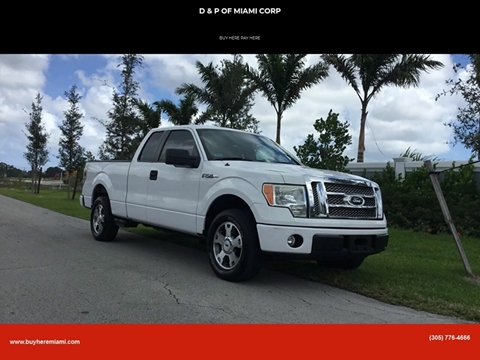 2009 Ford F-150 for sale at D & P OF MIAMI CORP in Miami FL