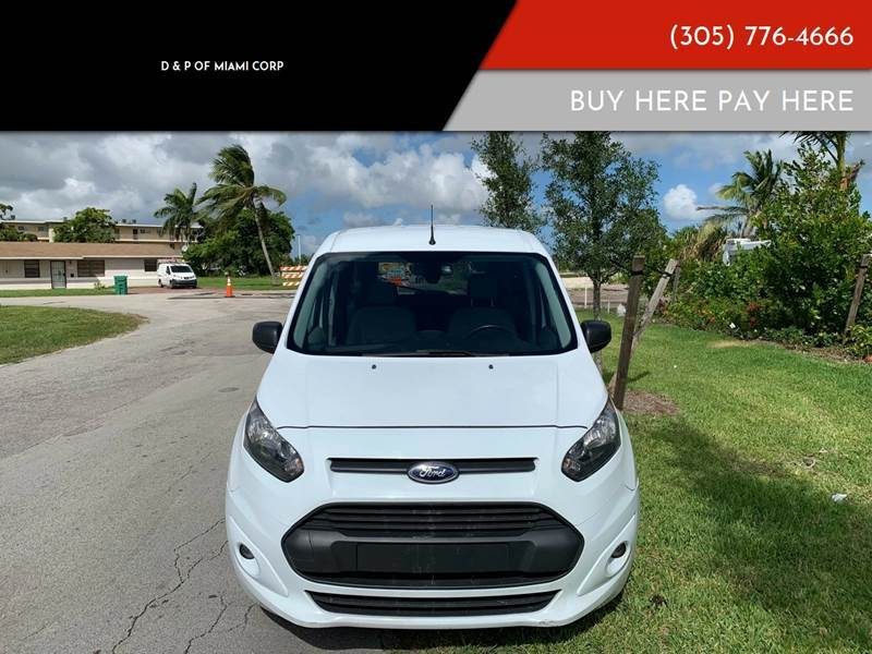2015 Ford Transit Connect Wagon for sale at D & P OF MIAMI CORP in Miami FL