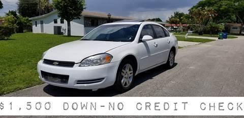 2013 Chevrolet Impala for sale at D & P OF MIAMI CORP in Miami FL
