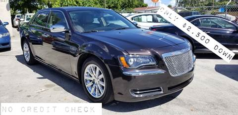 2012 Chrysler 300 for sale at D & P OF MIAMI CORP in Miami FL