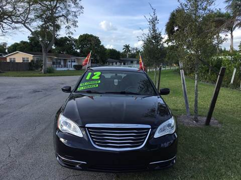 2012 Chrysler 200 for sale at D & P OF MIAMI CORP in Miami FL