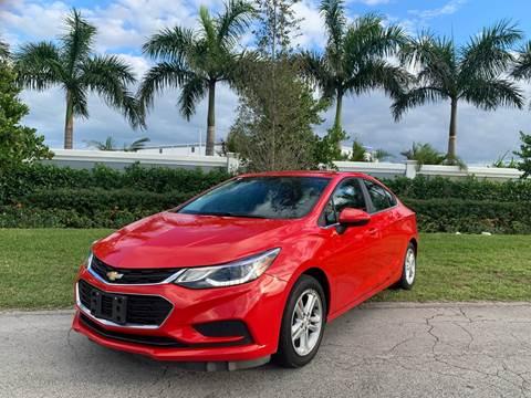 2016 Chevrolet Cruze for sale at D & P OF MIAMI CORP in Miami FL