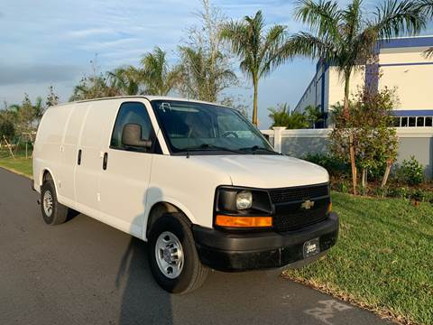2012 Chevrolet Express Cargo for sale at D & P OF MIAMI CORP in Miami FL