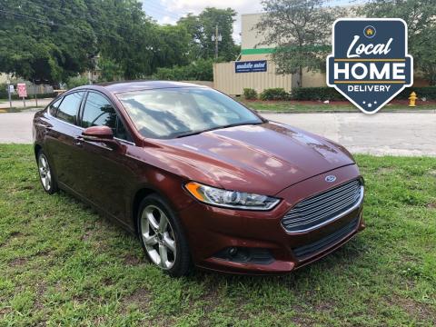 2016 Ford Fusion for sale at D & P OF MIAMI CORP in Miami FL