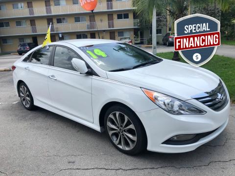 2014 Hyundai Sonata for sale at D & P OF MIAMI CORP in Miami FL