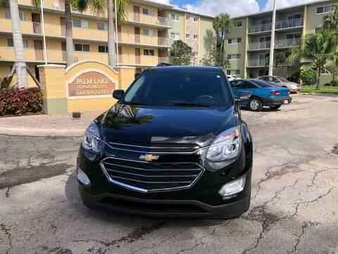2016 Chevrolet Equinox for sale at D & P OF MIAMI CORP in Miami FL