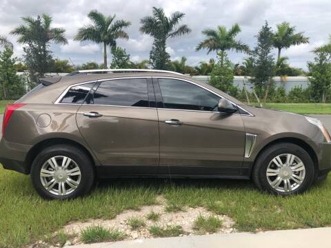 2015 Cadillac SRX for sale at D & P OF MIAMI CORP in Miami FL