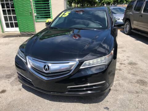 2015 Acura TLX for sale at D & P OF MIAMI CORP in Miami FL