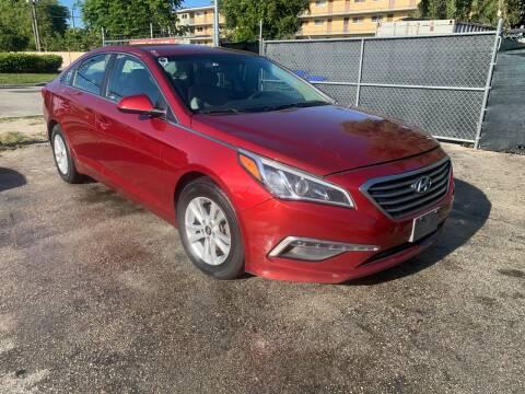 2015 Hyundai Sonata for sale at D & P OF MIAMI CORP in Miami FL