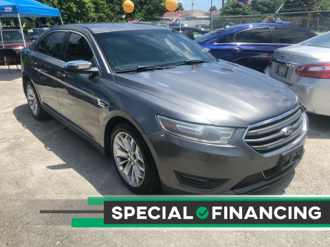 2014 Ford Taurus for sale at D & P OF MIAMI CORP in Miami FL