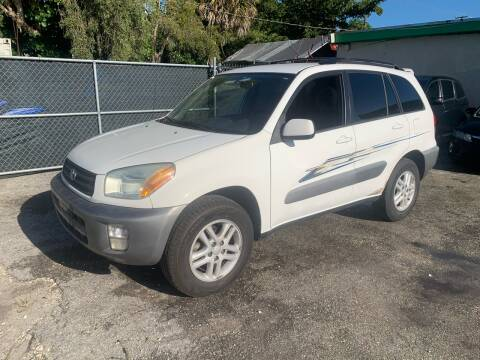 2001 Toyota RAV4 for sale at D & P OF MIAMI CORP in Miami FL