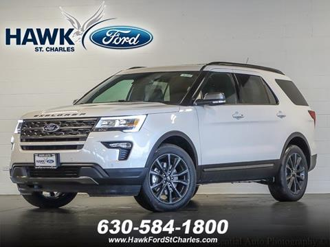 2018 Ford Explorer for sale in St Charles, IL