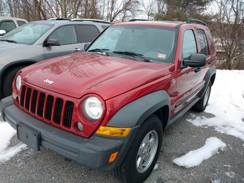 2007 Jeep Liberty for sale in Milford, NH