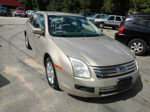 2008 Ford Fusion for sale in Milford, NH