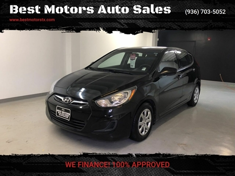 Car Dealerships In Conroe Tx >> 2014 Hyundai Accent For Sale In Conroe Tx