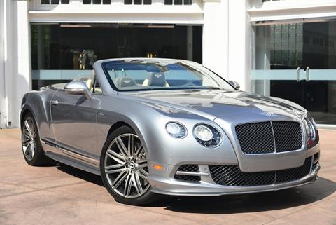 2015 Bentley Continental for sale in Beverly Hills, CA