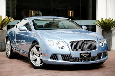 2012 Bentley Continental for sale in Beverly Hills, CA