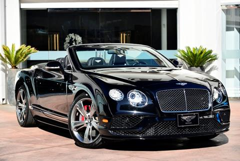 2017 Bentley Continental for sale in Beverly Hills, CA
