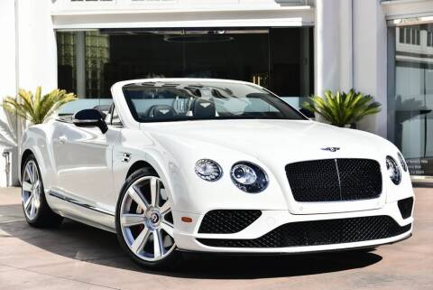 2016 Bentley Continental for sale in Beverly Hills, CA