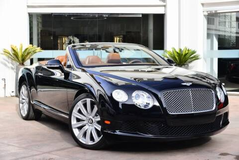 2013 Bentley Continental for sale in Beverly Hills, CA